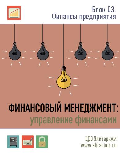 Финансовый менеджмент (управление финансами): практический интерактивный дистанционный курс